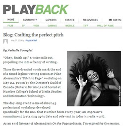 Crafting the Perfect Script Pitch - Playback