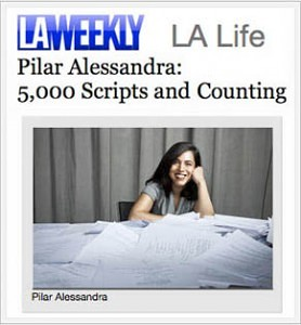 Pilar at LAWeekly.com - 5000 Scripts and Counting