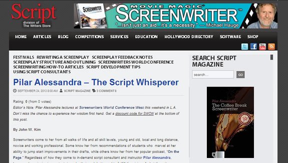 Pilar Alessandra The Script Whisperer
